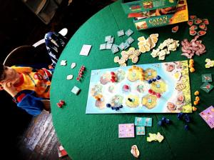 Playing Catan Jr.